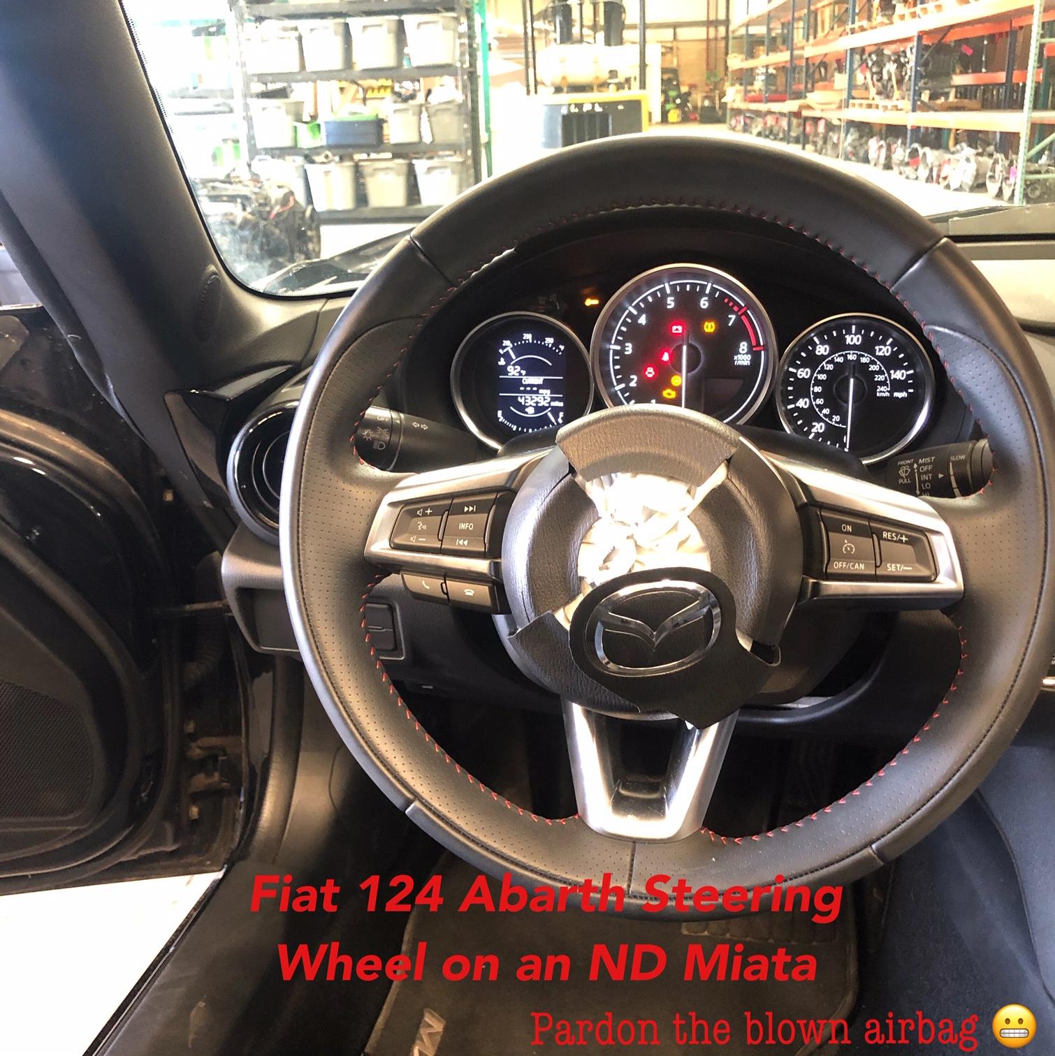 Fiat 124 Spider to ND Miata Compatibility / Interchange